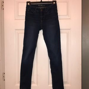 Girls PS Aeropostale High Waisted Jeggings